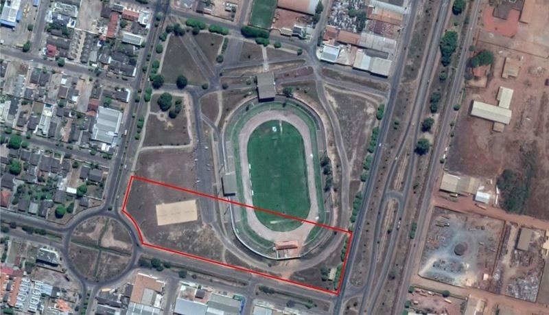 Nova arena e supermercado serão construídos em terreno do estádio de Sinop; projeto está na Câmara 2