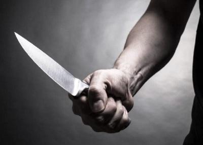 Suspeito usou uma faca para cometer o crime