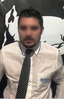 Acusado confessou o crime em vídeo